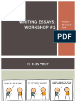 Essays 1 - Process and Structure