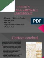 Corteza Cerebral y Aprendizaje Villaruel Ornella Messina