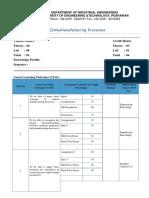 Course Assesmnet Sheet