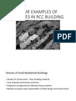 Building failure