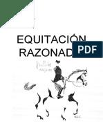 EQUITACION RAZONADA - Jean Licart.