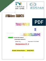 radiocristallographie TP3