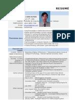 Master CV