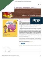 Programa de Estimulação Cognitiva _ 4-16 Anos _ Oficina Didáctica