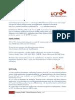 Ucf - Iict Profile