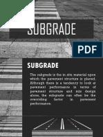 Highway - subgrade