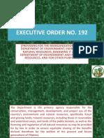 Executive Order No 192