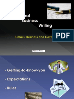 Thieme Adelheid. - Professional Business Writing. E-mails, Business and Cover Letters