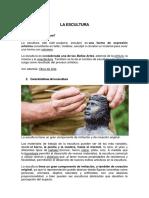 LA ESCULTURA  Y SU CLASIFICACIÓN.docx