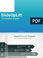 List PowerPoint Templates