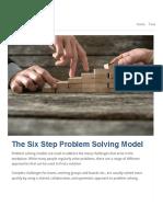 The Six Step Problem Solving Model.pdf