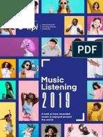 Music Listening 2019