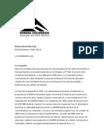 Guía Minera Escondida Ltda