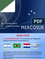 presentación sobre Mercosur