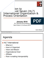 F2 Jan 2018 Understanding the HL7 International Organziation - From Process to Governance