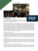 6.-SEXTA CONGREGACION General Relación Del Cardenal Lorenzo Baldisseri,