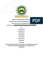 Project report on pozzolanic cement