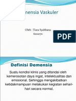 Demensia Vaskuler Ppt Tisya