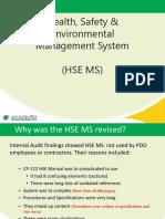 HSE MS Training Feb 2019