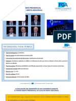 Encuesta Debate Presidencial FG&A
