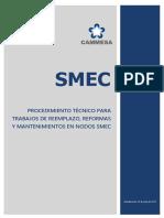 SMEC - Reemplazo, reformas y mantenimientos en Nodos SMEC.pdf