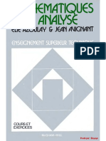 E. Azoulay, Et Al., [FRENCH] - Mathematiques 3 Analyse