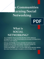 Online Communities of Learning