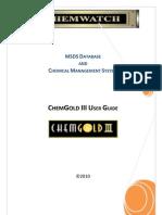 Chem Gold III User Guide