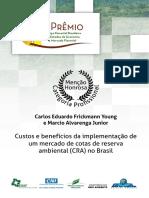 Analises Orçamentária CRA - Cotas de Reserva Ambiental