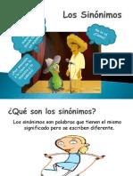 Presentación Los Sinónimos-Antónimos