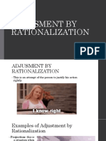 Adjusment by Rationalization