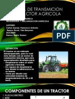 Sistema de Transmicion Del Tractor Agricola