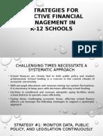 6 Strategies for Effective Financial Management Trends in K12 Schools