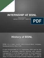 BSNL Internship Review -1