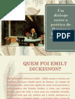 Um diálogo entre a poética de Hopper e Dickinson
