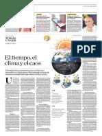 El Tiempo, El Clima y El Caos