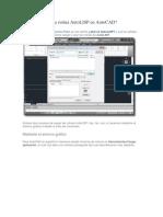 Cómo Cargar Una Rutina AutoLISP en AutoCAD