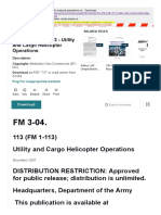 Army - FM3 04X113 - Utility and Cargo Helicopter Operations _ Staff (Military) _ Air Assault