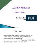 Curs Poluanti Toxici