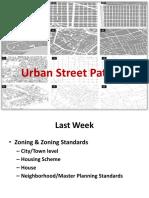 urban street patterns