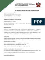 ESPECIFICACIONES  ELECTROMECNICASHOSPITAL