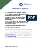 Aplicación práctica de la neuroeducación