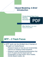PPT_8a_MTF MeetingActivityBased Modeling112907_Mike.ppt
