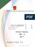 assignment managment.docx