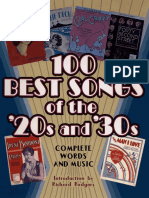 100 Best Songs of the 20's and 30's.pdf