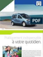 2013 Dacia Dokker MPV Brochure Fr