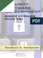 Security software development book