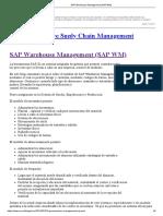 SAP Warehouse Management (SAP WM)