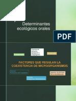 Determinantes Ecológicos Orales