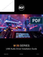 Consola RCF M20